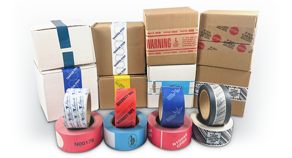 Customized Tamper Evident Tapes