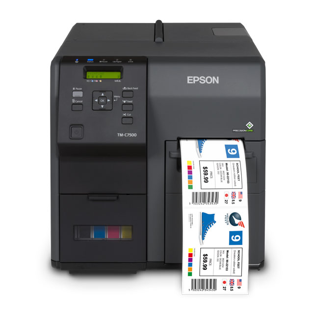 Buy Epson ColorWorks C7500G Label Printers from RighterTrack